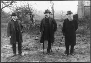 Sickles Visits the Battlefield 1895