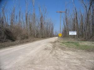 The Confederate Camp Site
