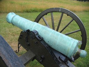 Clark Howitzer at Manassas (one of two)